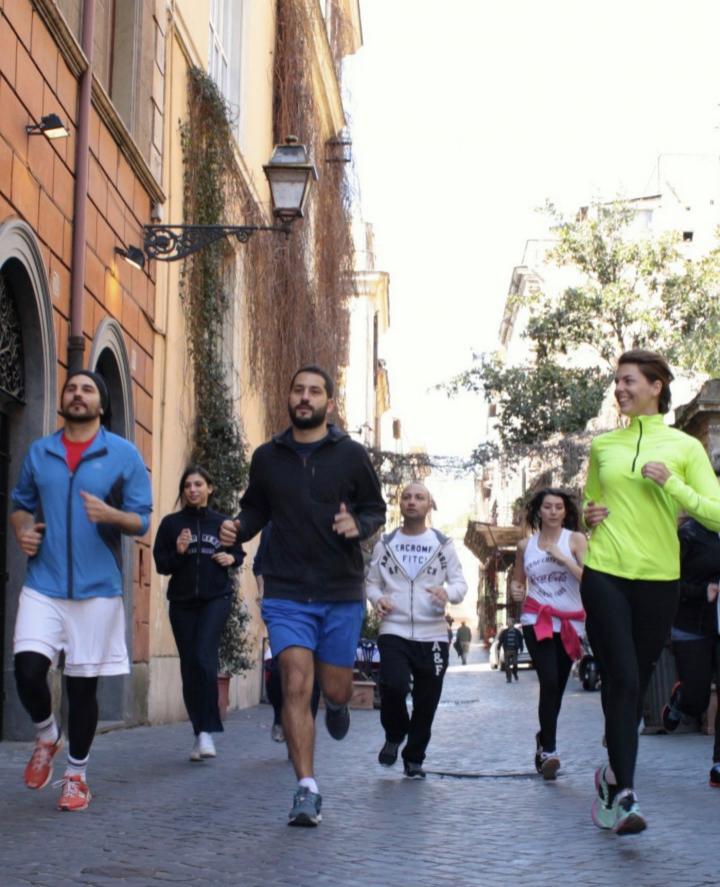 Rome Small Group Running Tour