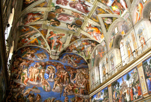 Exclusive Tour of the Sistine Chapel