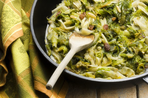 Scarola Puff Escarole recipe