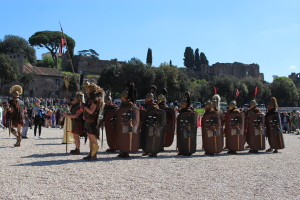 Daily life in ancient Rome, Palatine Hill