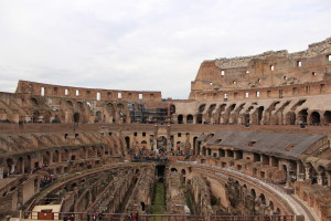 daily life in ancient rome colosseum