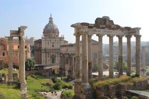 Daily life in ancient Roman Forum