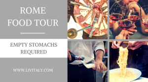 ROME FOOD TOUR LivItaly