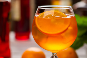 9 Cocktails Invented in Italy - Aperol Spritz cocktail