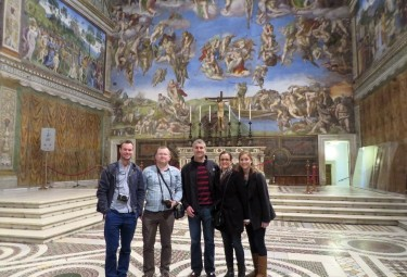 Vatican Early Entrance Small Group Tour - Sistine Chapel