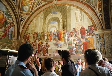 Raphael Rooms -  Rome in a Day Private Tour