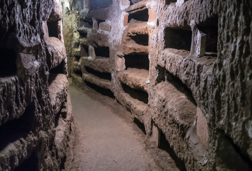 Rome Catacombs Night Tour - Small Group