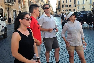 Rome small group walking tour