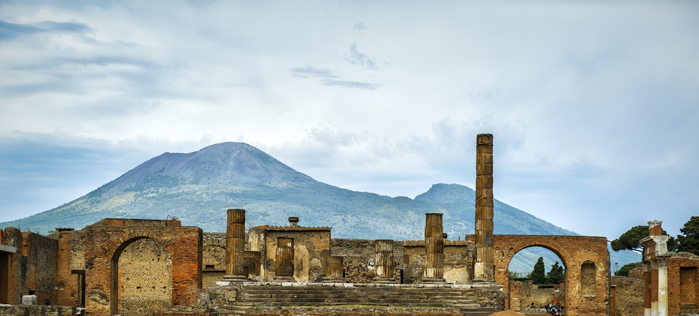 how to travel from rome to pompeii