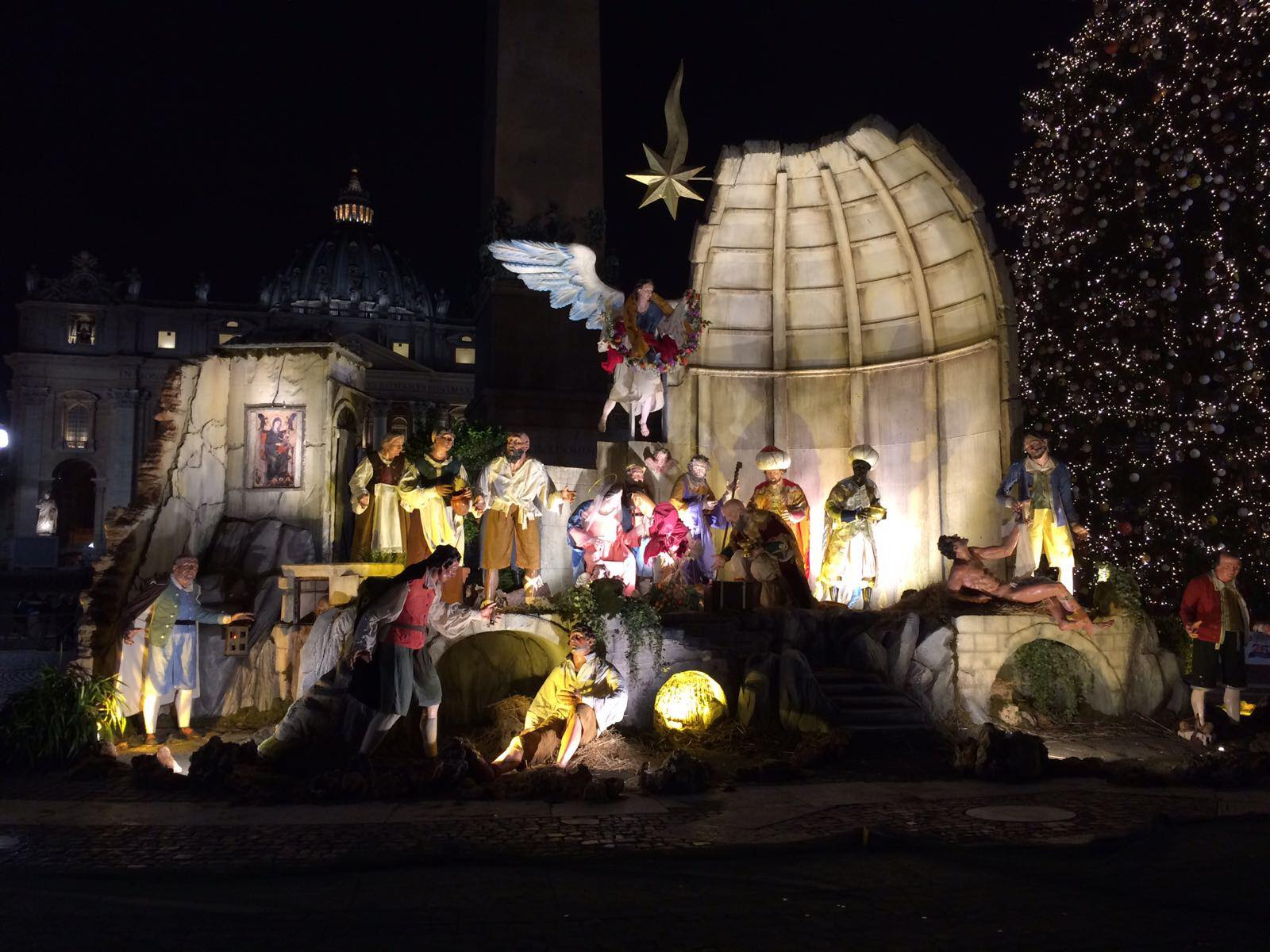 The History Behind the Vatican's Nativity Scene