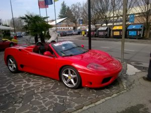 Ferrari F360 Spider Test Drive in Maranello