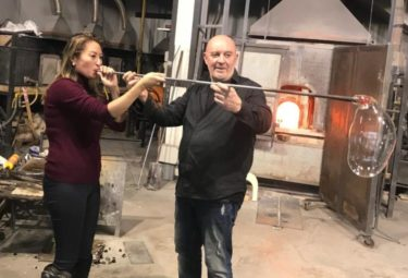Murano Glass Tour-Water Taxi Tour of the Glass Blowing Island