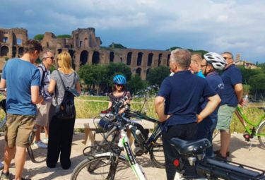Small Group Rome Bike Tour-Ebike in Rome